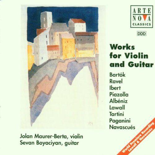 J. Maurer-Berta - Werke Für Violine Und Gitarre - Preis vom 11.05.2021 04:49:30 h