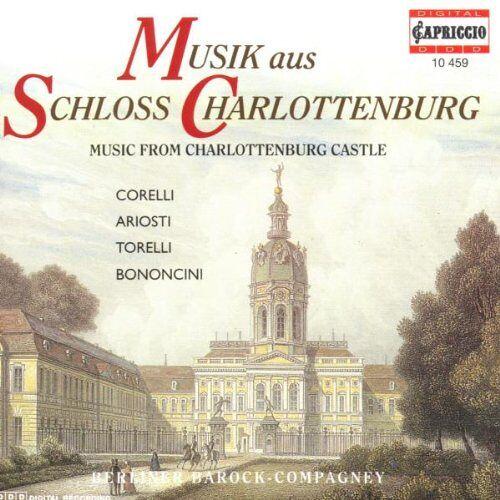 Berliner Barock-Compagney - Musik aus Schloß Charlottenburg - Preis vom 18.04.2021 04:52:10 h