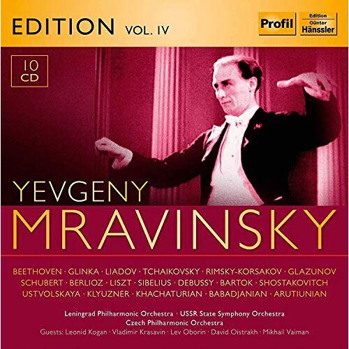 Evgeny Mravinsky - Evgeny Mravinsky Edition Vol.4 - Preis vom 18.10.2020 04:52:00 h