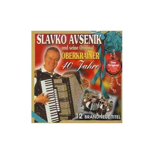 Avsenik, Slavko und Seine Original Oberkrainer - 40 Jahre Slavko Avsenik und S.Original Oberkrainer - Preis vom 20.10.2020 04:55:35 h