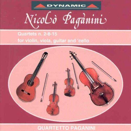Quartetto Paganini - Paganini: Quartette Nrn. 2-8, - Preis vom 05.09.2020 04:49:05 h