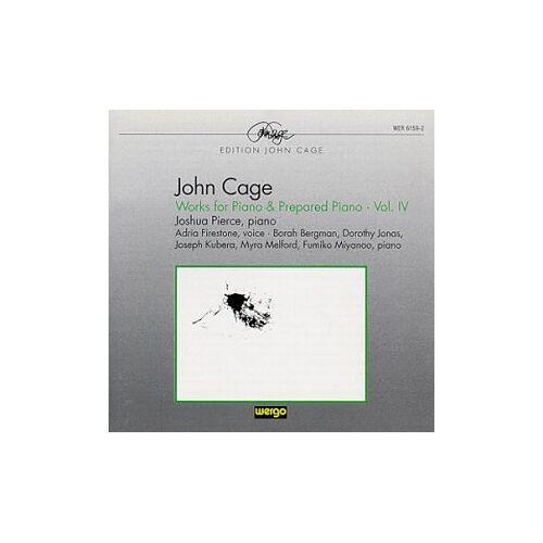 Joshua Pierce - Werke für Klavier und präpariertes Klavier Vol. 4 - Preis vom 11.04.2021 04:47:53 h