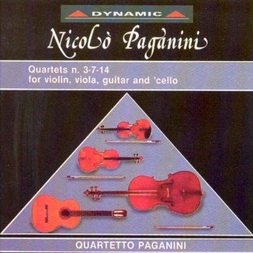 Quartetto Paganini - Gitarrenquartette - Preis vom 14.04.2021 04:53:30 h
