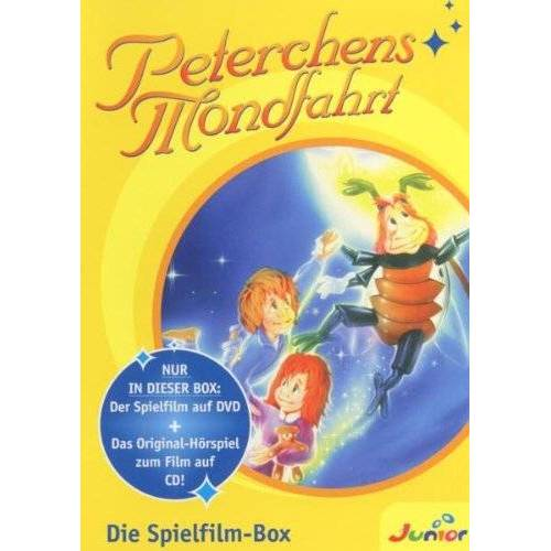 Peterchens Mondfahrt - Peterchens Mondfahrt. Die Spielfilm-Box (1 DVD + 1 Audio-CD) - Preis vom 18.04.2021 04:52:10 h