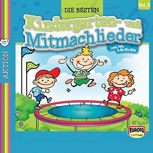 Lena - Die Besten Kindergarten- und Mitmachlieder,Vol. 5 - Preis vom 14.05.2021 04:51:20 h
