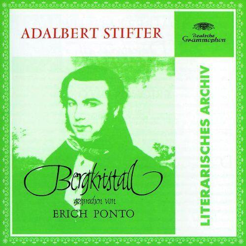 Erich Ponto - Stifter: Bergkristall - Preis vom 02.11.2020 05:55:31 h