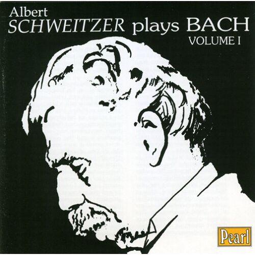 Albert Schweitzer - Albert Schweitzer Plays Bach 1 - Preis vom 21.10.2020 04:49:09 h