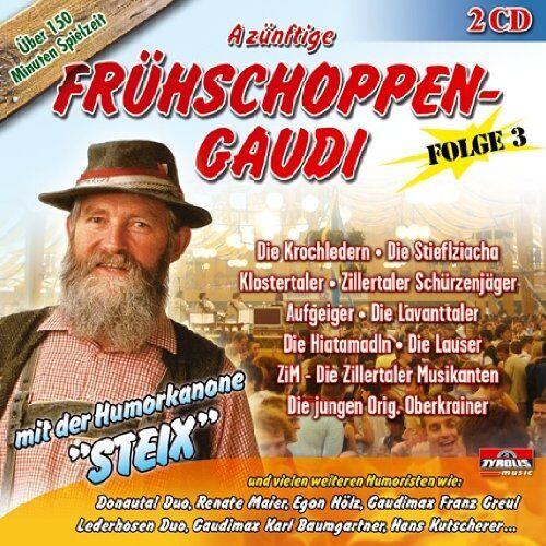Various - A Zünft.Frühschoppen-Gaudi 3 (incl. vieler Witze) - Preis vom 17.04.2021 04:51:59 h