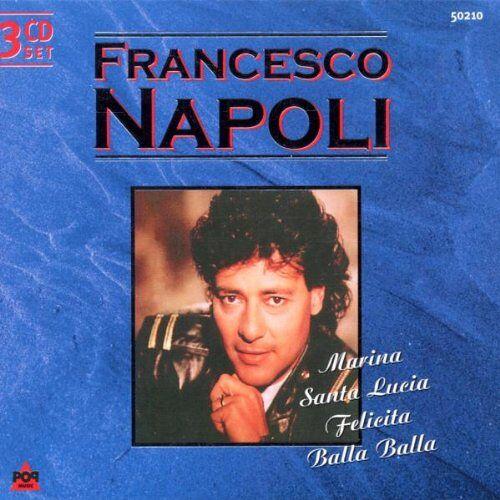 Francesco Napoli - Francesco Napoli [3-CD-Box] - Preis vom 14.04.2021 04:53:30 h