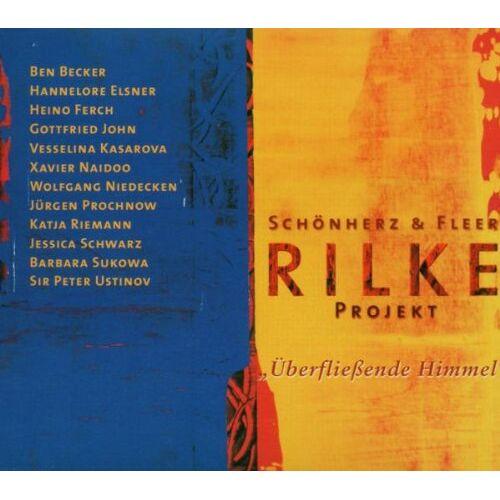 Schönherz & Fleer - Rilke Projekt Vol. 3: Uberfliessende Himmel, Limit. Ed. 2006 mit Postkarten - Preis vom 18.10.2020 04:52:00 h