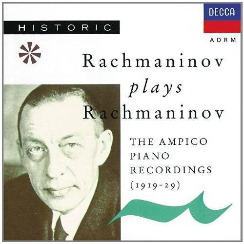 Sergej Rachmaninoff - Rachmaninoff Spielt Rachmaninoff - Preis vom 26.01.2021 06:11:22 h