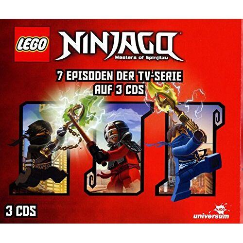 Various - Lego Ninjago Hörspielbox 4 - Preis vom 09.09.2019 06:07:38 h