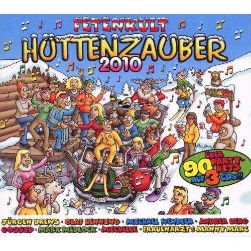 Various - Hüttenzauber 2010 - Preis vom 06.09.2020 04:54:28 h