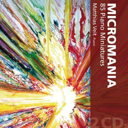 Matthias Veit - Micromania - 85 Klavierminiaturen - Preis vom 18.04.2021 04:52:10 h