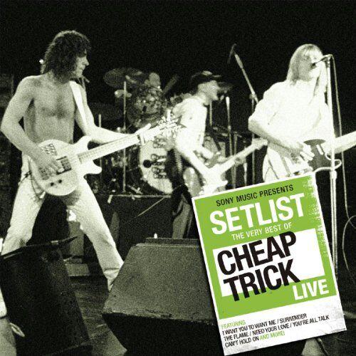 Cheap Trick - Setlist: the Very Best of Cheap Trick Live - Preis vom 20.10.2020 04:55:35 h