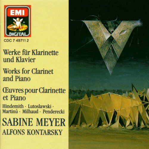 Sabine Meyer - Werke für Klarinette und Klavier - Preis vom 07.05.2021 04:52:30 h