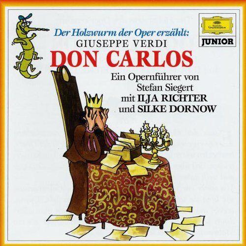 Der Holzwurm der Oper - Der Holzwurm der Oper erzählt: Verdi, Don Carlos - Preis vom 21.01.2021 06:07:38 h