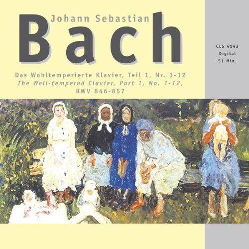 Bach, Johann Seb. - Wohltemperiertes Klavier 1, 1 - Preis vom 21.10.2020 04:49:09 h