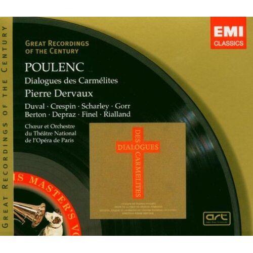 Dervaux - Dialogues Des Carmelites - Preis vom 16.04.2021 04:54:32 h