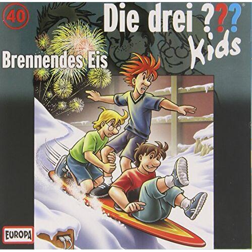 Die Drei ??? Kids - 040/Brennendes Eis - Preis vom 23.02.2021 06:05:19 h