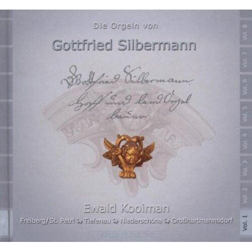 Ewald Kooiman - Die Silbermann-Orgeln Vol.1 - Preis vom 14.05.2021 04:51:20 h