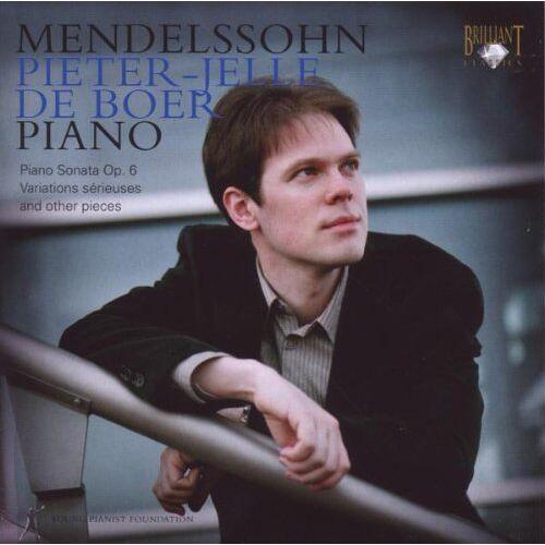 Pieter-Jelle de Boer - Mendelssohn: Piano - Preis vom 06.05.2021 04:54:26 h