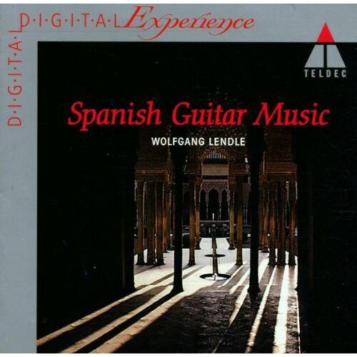 Wolfgang Lendle - Spanische Gitarrenmusik - Preis vom 21.10.2020 04:49:09 h