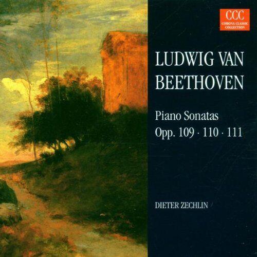 Dieter Zechlin - Klaviersonaten - Preis vom 20.10.2020 04:55:35 h