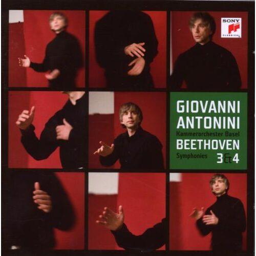Giovanni Antonini - Sinfonien 3+4 - Preis vom 26.02.2021 06:01:53 h