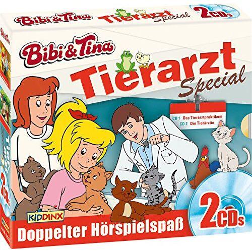 Bibi und Tina - CD-Box: Tierarztpraktikum/Tierärztin - Preis vom 09.04.2021 04:50:04 h