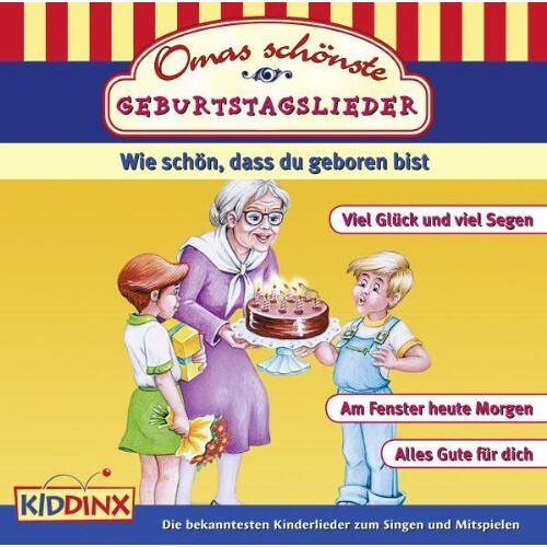 Various - Omas Schönste Geburtstagslieder - Preis vom 18.10.2020 04:52:00 h