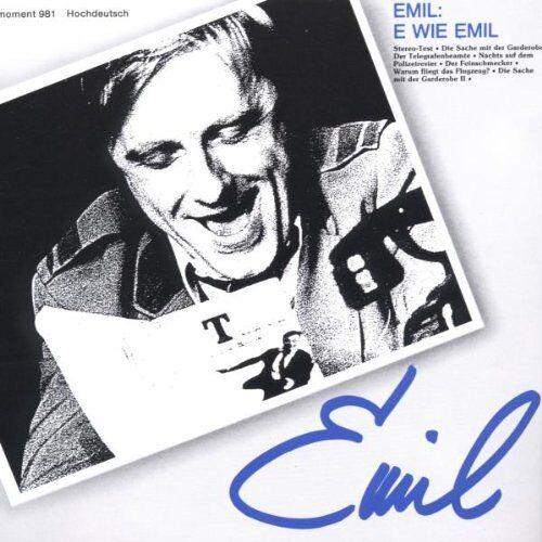 Emil Steinberger - E Wie Emil - Preis vom 28.02.2021 06:03:40 h
