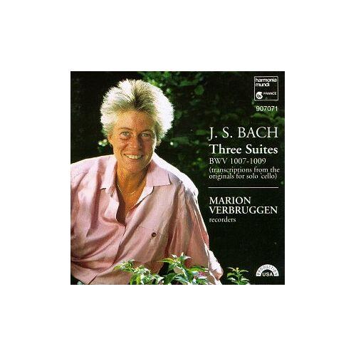 Verbruggen - Js Bach;Trois Suites - Preis vom 20.10.2020 04:55:35 h