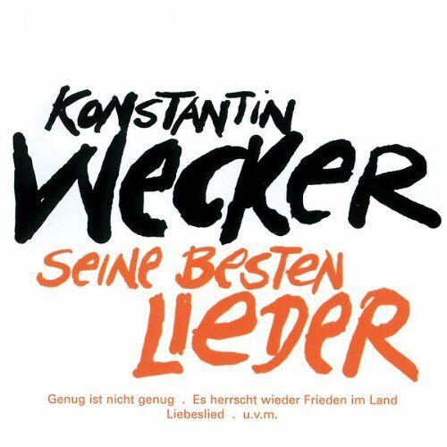 Konstantin Wecker - Seine besten Lieder - Preis vom 05.03.2021 05:56:49 h