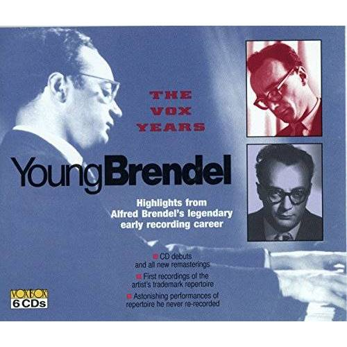 Alfred Brendel - Der Junge Brendel-die Vox Jahre - Preis vom 27.02.2021 06:04:24 h