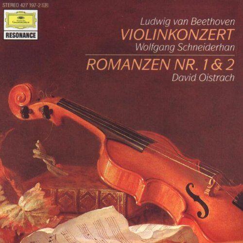 Wolfgang Schneiderhan - Violinkonzert Op. 61 / Violinromanzen1 und 2 - Preis vom 05.09.2020 04:49:05 h