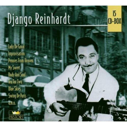 Django Reinhardt - Django Reinhardt 15cd-Box - Preis vom 05.03.2021 05:56:49 h