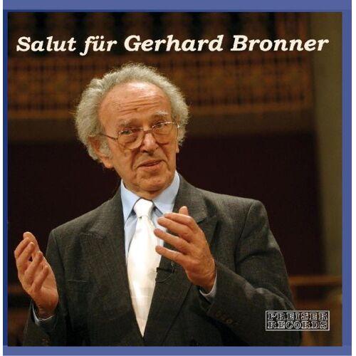 Gerhard Bronner - Salut für Gerhard Bronner - Preis vom 20.10.2020 04:55:35 h