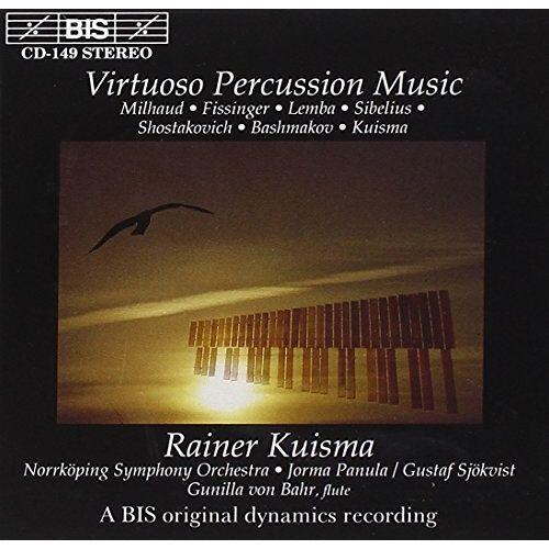 Rainer Kuisma - Virtuose Schlagzeugmusik - Preis vom 12.05.2021 04:50:50 h