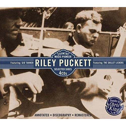 Riley Puckett - Riley Puckett,Selected Sides - Preis vom 11.05.2021 04:49:30 h