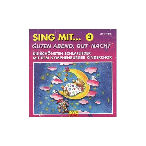 Nymphenburger Kinderchor - Guten Abend,Gut' Nacht - Preis vom 14.01.2021 05:56:14 h