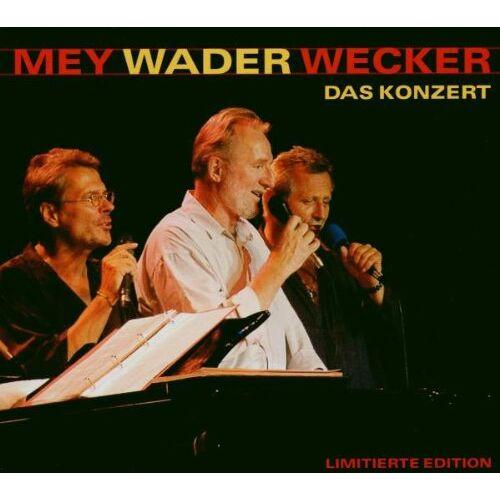 Mey, Wader, Wecker - Das Konzert - limitierte und nummerierte Sonderedition - Preis vom 07.05.2021 04:52:30 h