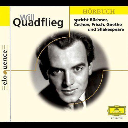 Will Quadflieg - Will Quadflieg spricht... - Preis vom 27.02.2021 06:04:24 h