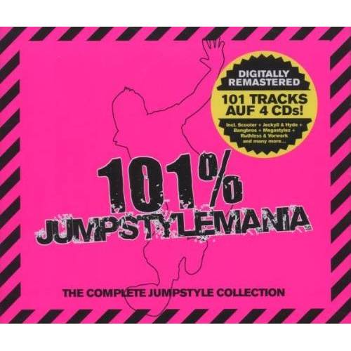 Various - 101 % Jumpstylemania-the Complete Jumpstyle Coll. - Preis vom 20.01.2021 06:06:08 h