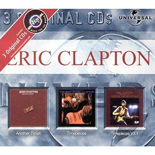 Eric Clapton - Another Ticket/Timepieces/Timepieces Vol. 2 [3-CD-Box] - Preis vom 03.09.2020 04:54:11 h