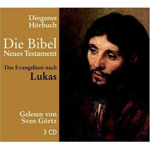 Sven Görtz - Die Bibel. Das Evangelium nach Lukas. 3 CDs - Preis vom 21.10.2020 04:49:09 h