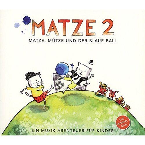 Matze.Music - Matze 2-Matze,Mütze und der blaue Ball - Preis vom 18.01.2021 06:04:29 h