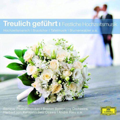 Various - Treulich geführt - Festliche Hochzeitsmusik (Classical Choice) - Preis vom 18.04.2021 04:52:10 h
