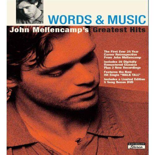 John Mellencamp - Words & Music: John Mellencamp - Preis vom 14.05.2021 04:51:20 h