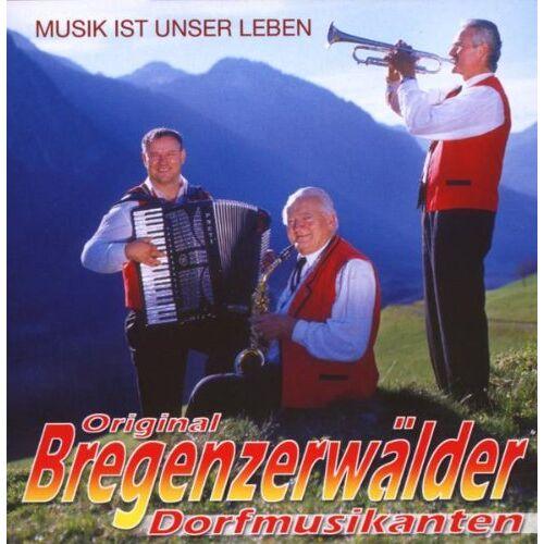 Bregenzerwälder Dorfmusikanten - Musik Ist Unser Leben - Preis vom 23.02.2021 06:05:19 h